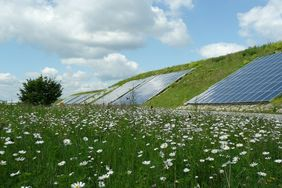 Solarthermie-Wand in Crailsheim