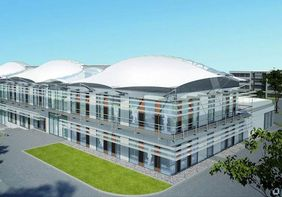 "Visualisierung des geplanten ""Energy Efficiency Center"""