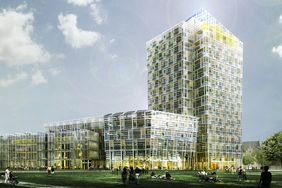 Rendering des Smart Green Tower