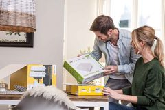 Paket mit Smart-Friends-Box