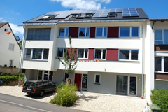 Haus mit Photovoltaik in Stuttgart-Kaltental
