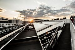 Solaranlage des Futuriums in Berlin