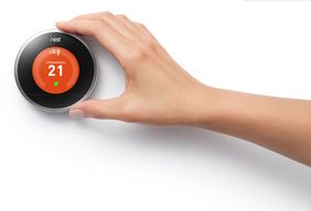 Thermostat von den Nest Labs