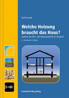 Buchcover: Welche Heizung braucht das Haus?