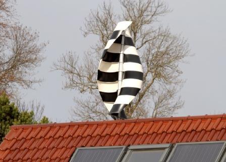 kleinwindkraftanlage zur selbstmontage auf dem dach. Black Bedroom Furniture Sets. Home Design Ideas