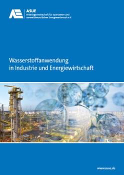 Die neue Broschüre der ASUE über Wasserstoffanwendung. ©ASUE