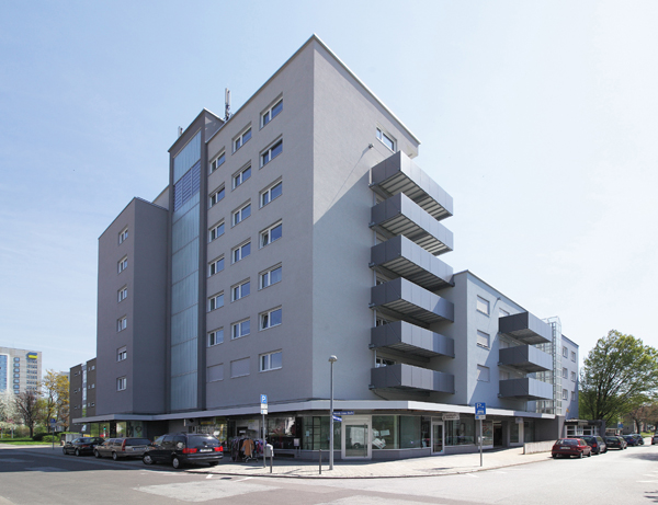 Achtgeschossiges Wohnobjekt