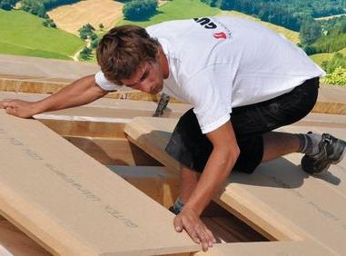 Dämmung fürs Dach