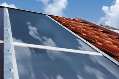 Solarthermie auf dem Hausdach