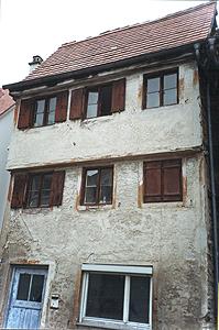 Haus vor der Sanierung