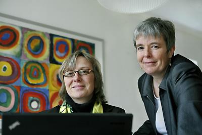 Silke Thole und Pia Grund-Ludwig