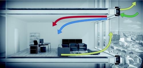 anlage wird in der geschossdecke versteckt. Black Bedroom Furniture Sets. Home Design Ideas